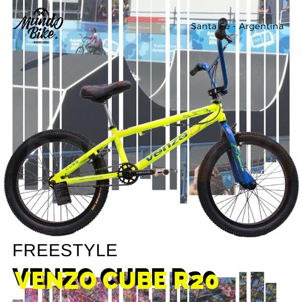 venzo cube bici de freestyle